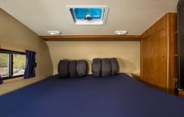 Cruise America Truck Camper Bedroom