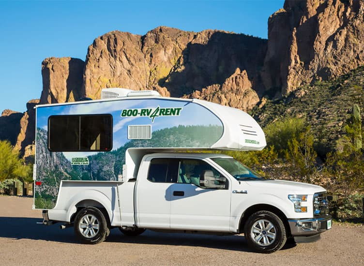 Cruise America Truck Camper For Rent