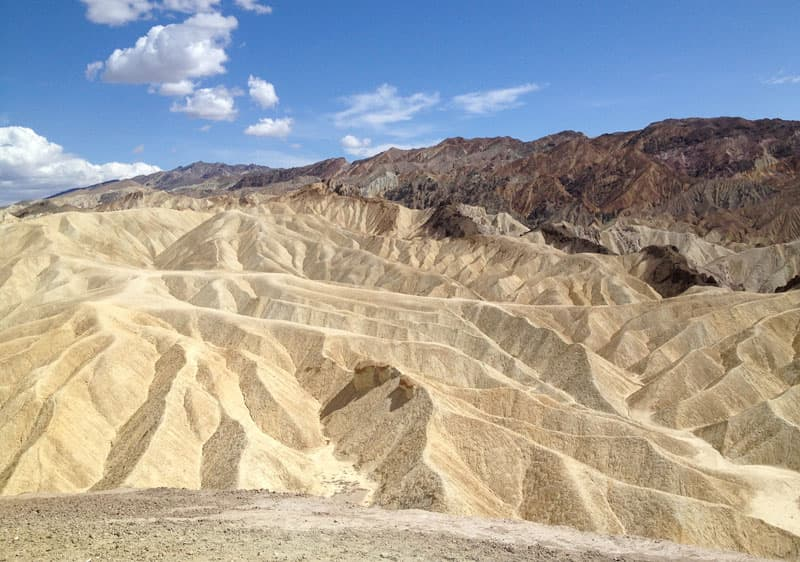 Death Valley scenery