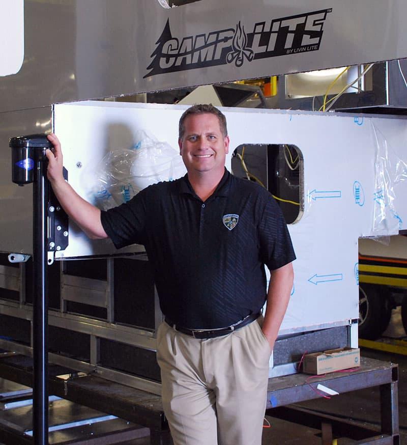 Dave Boggs, General Manager for Livin' Lite
