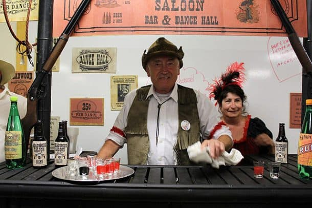 Billy the Bartender and Poker Alice, photo taken by Karen Parsons