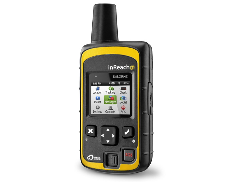 Delorme InReach Tracker While Camping