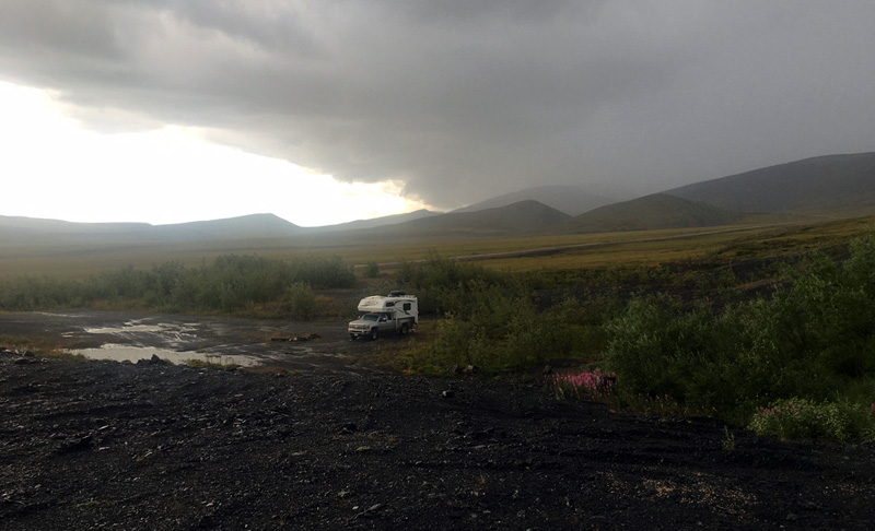Dempster Highway Camping Pre Flood