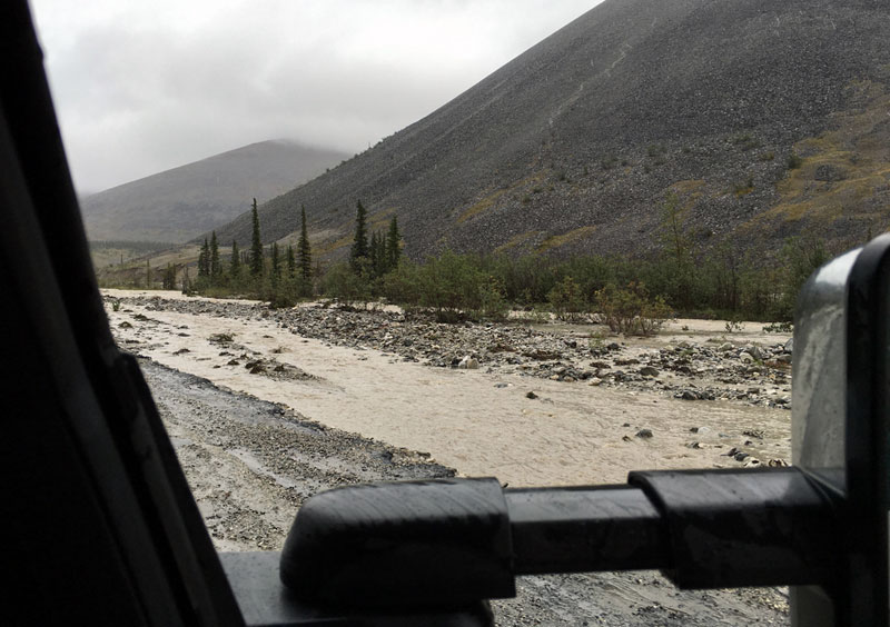 Dempster Highway Flooding