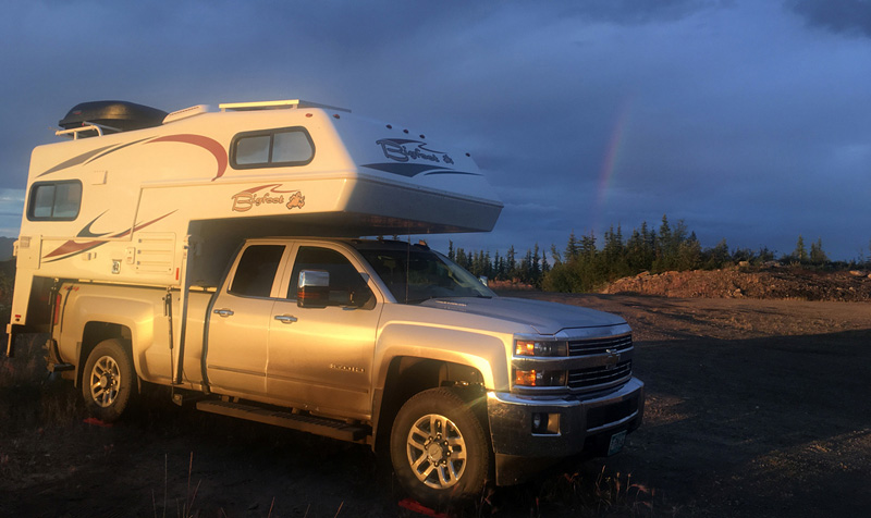Dempster Camp Rainbow