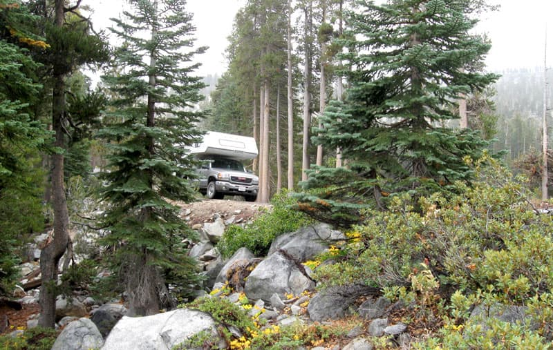 Dimond O RV Campground in California