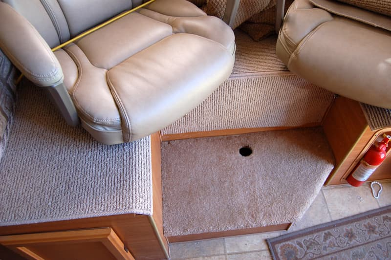 Dinette Unmodified foot rest