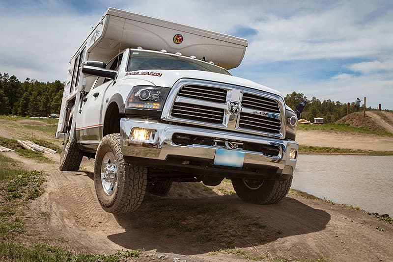 Overland Expo off-road course with Hallmark Ute XS