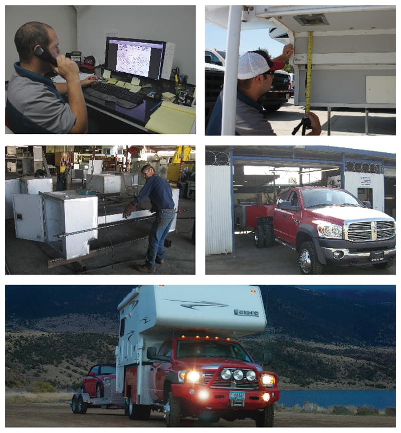 Douglass Truck Bodies, Bakersfield, California