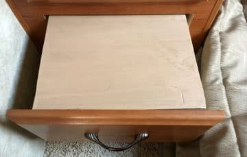 End table insert