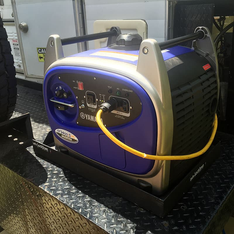 Yamaha generator working with Alaskan truck camper