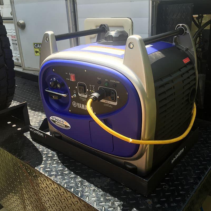Yamaha generator working with Alaskan truck camper