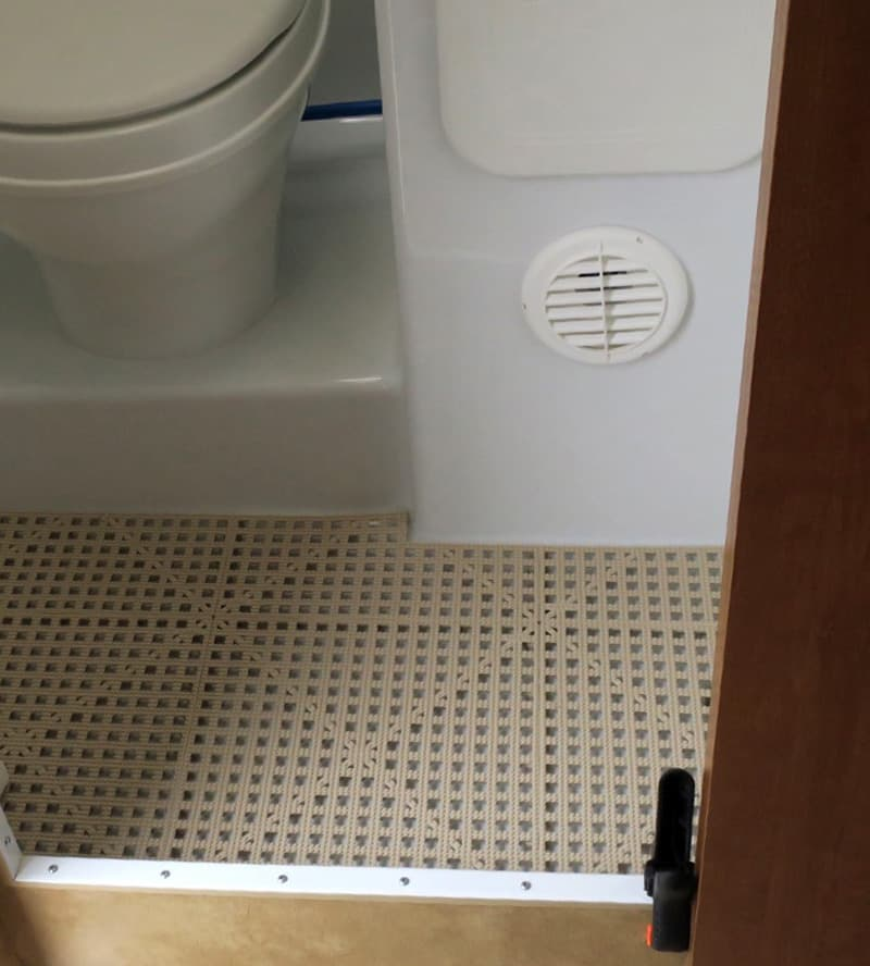 Dri Dek For Camper Wet Bath Floor