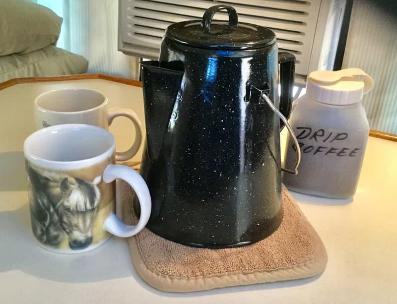 Drip Coffee In Camper Jan Hill
