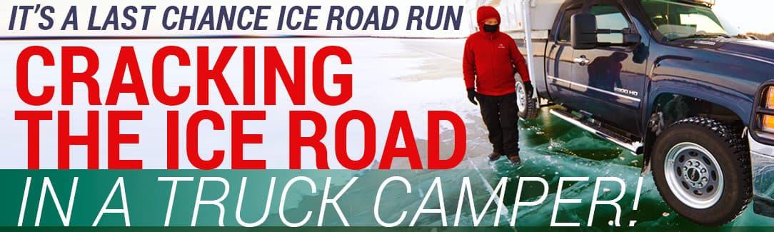 Driving the Ice Road Inuvik to Tuktoyaktuk