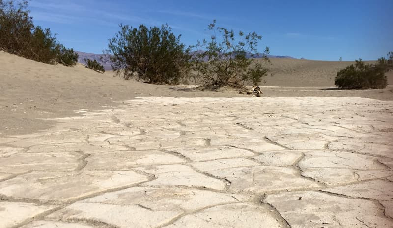 Dry Earth Death Valley