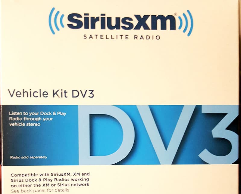 Sirius XM Vehicle Kit DV3