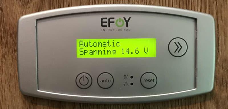EFoy control panel