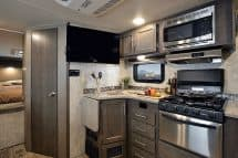 Eagle Cap 1160 camper galley