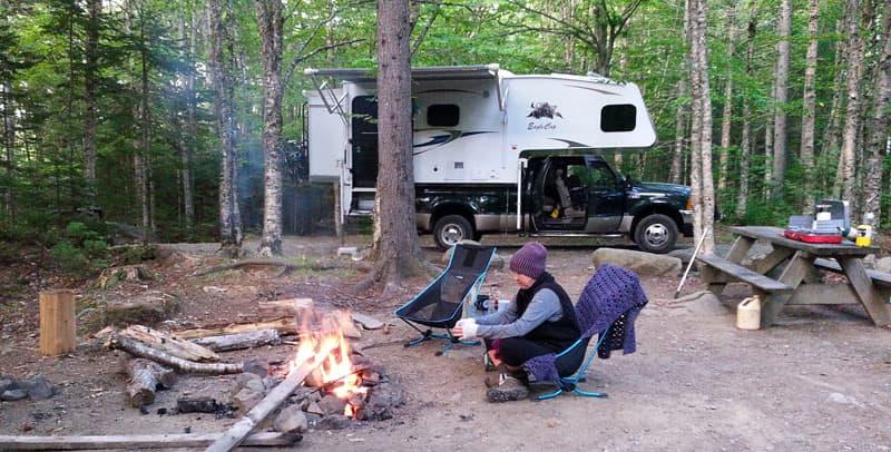 Eagle Cap 1160 camping