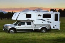 Eagle Cap 1165 triple-slide truck camper