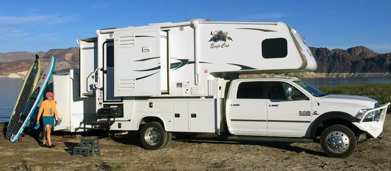 Eagle Cap 1165 Ram 5500 utilty bed