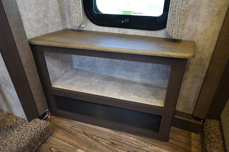 Eagle Cap 1200 table storage nook