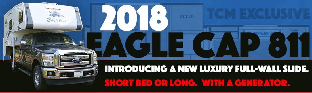 Eagle Cap 811 new camper