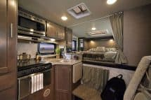 Eagle Cap 850 camper galley