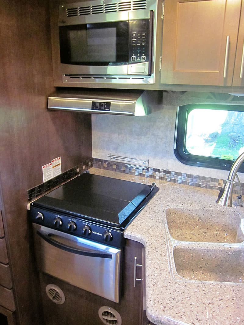 Eagle Cap Campers get stainless steel appliances for 2017
