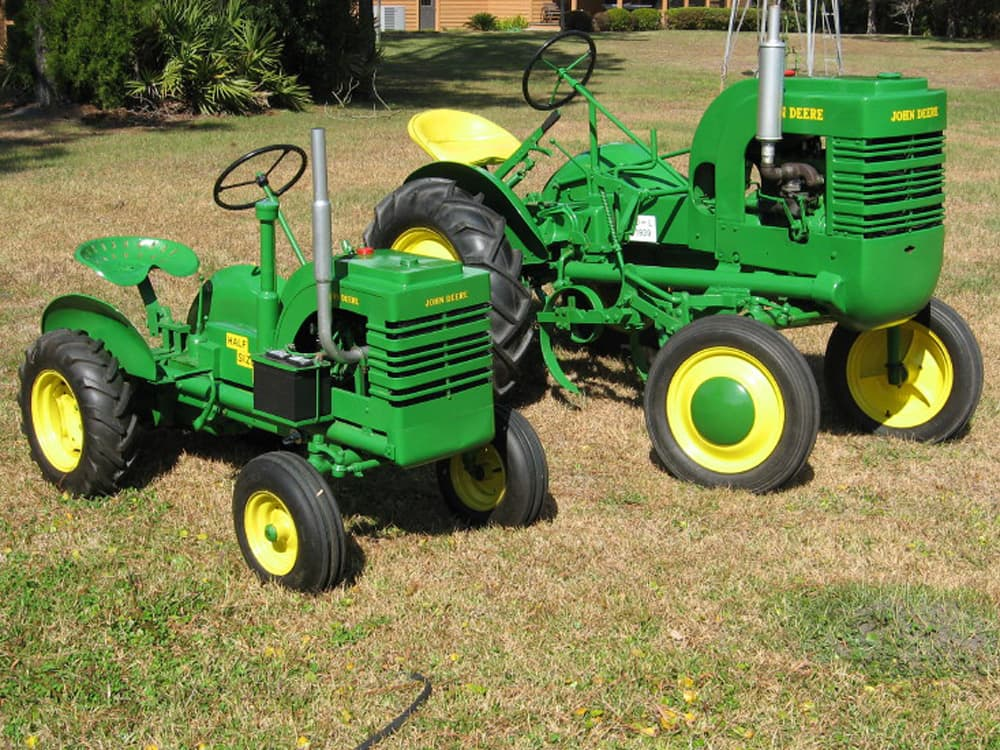 Old John Deere Tractor Parts : Camping the antique tractor show circuit