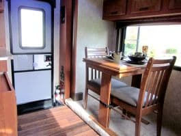Eagle-Cap-1200-camper-dinette-table-travel-mode