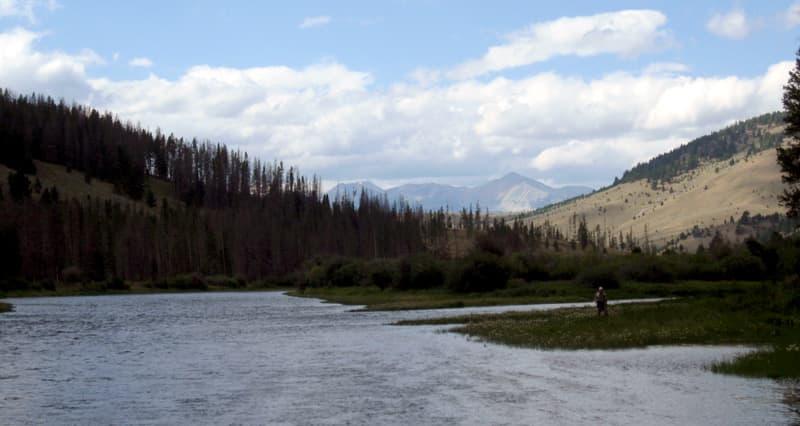 East Bank, Montana fishing