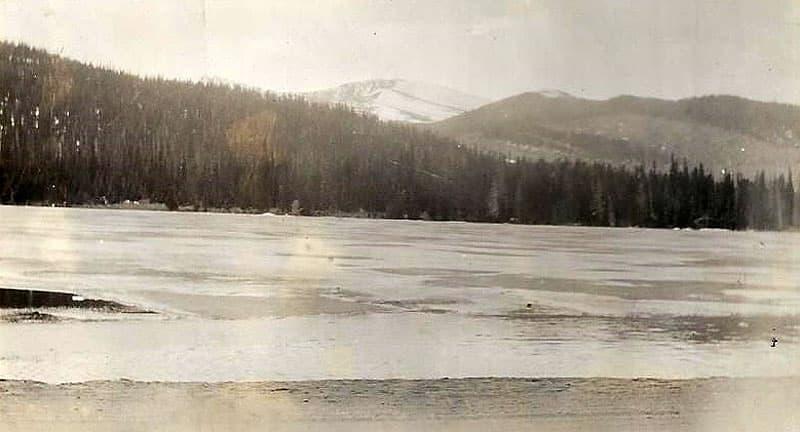 Echo Lake, Mt Evans, Colorado