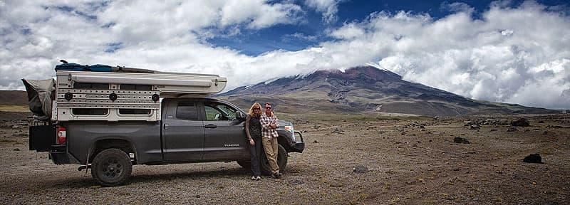 Ecuador Paula and John and Hallmark camper