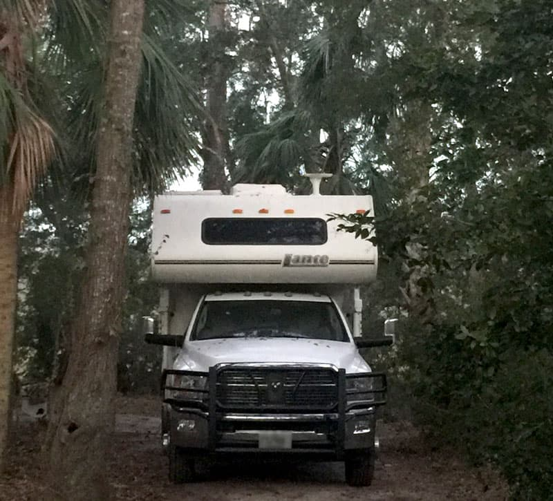 Edisto Island, South Carolina-camping