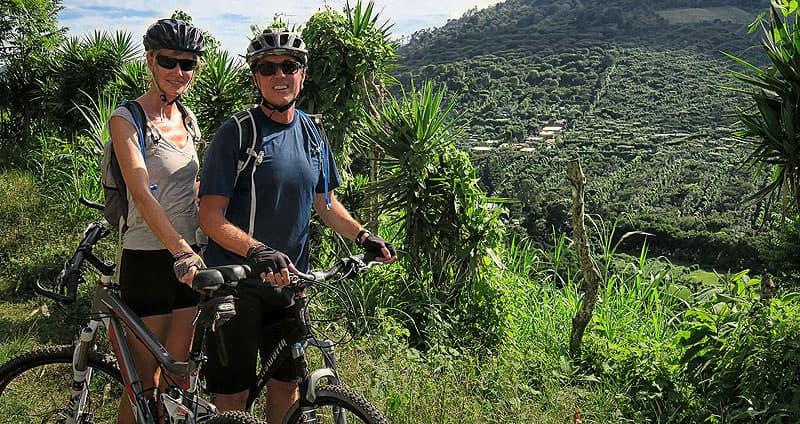 El-Salvador bike ride