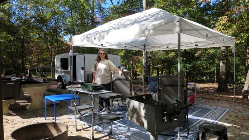 Elaborate Set Up Camping