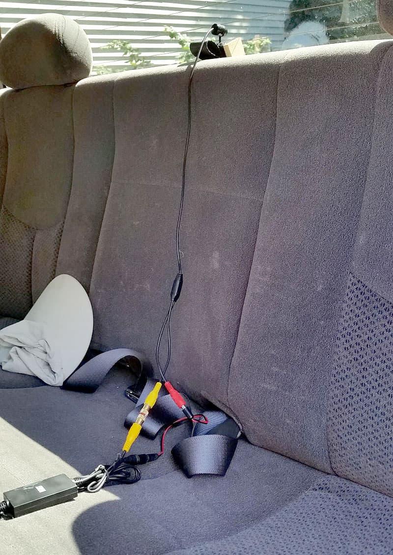 Esky rear camera for truck loading