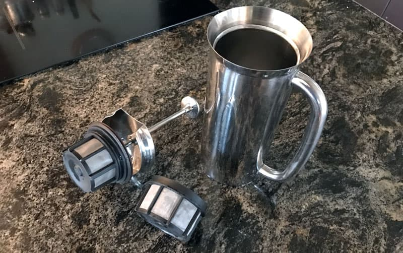 Espro French Press, stainless steel, double vacuum bonded