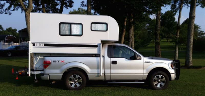 Eureka Camper On Truck