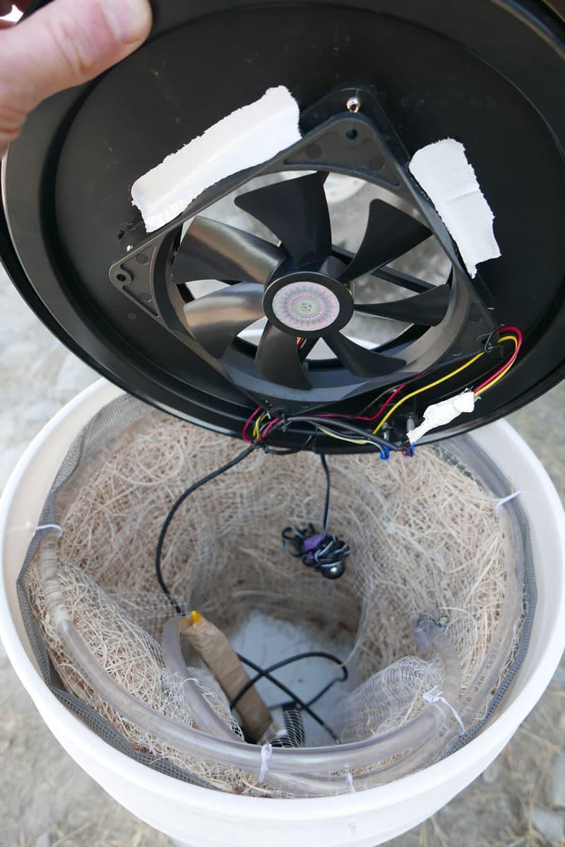 Evaporative Cooler fan