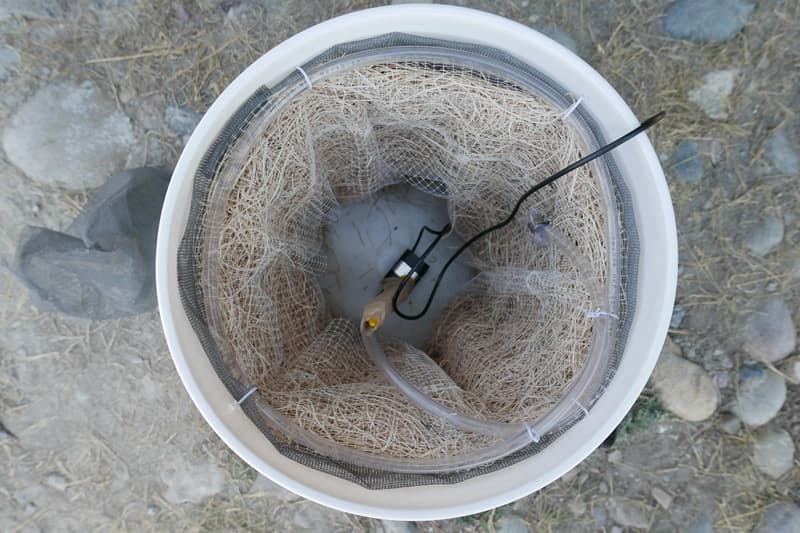 Evaporative Cooler inside-parts