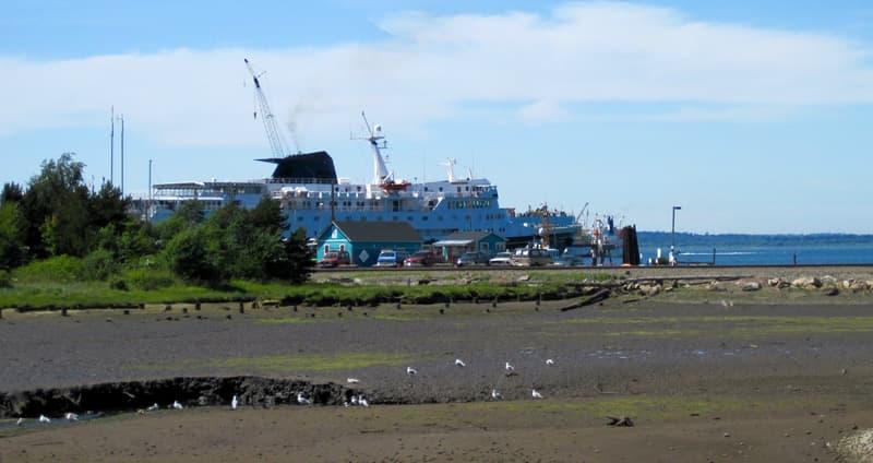 Ferry from Bellingham, Washington to Alaska