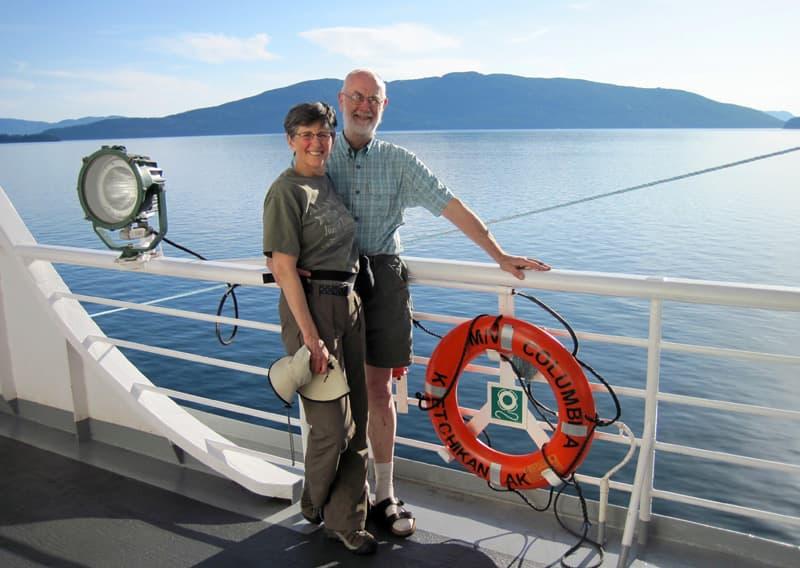 Car Ferry To Ketchikan, Alaska