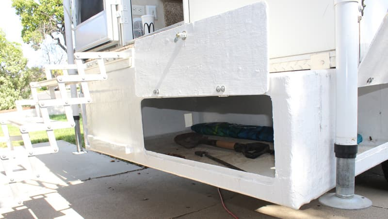 Fiberglass Box Rear Camper