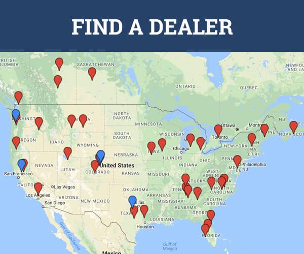Find A Dealer Map
