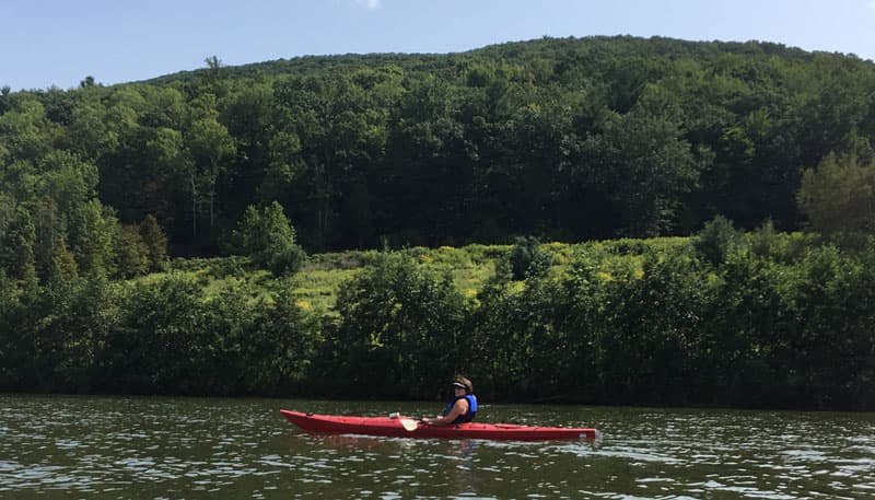 Finger Lakes kayaking