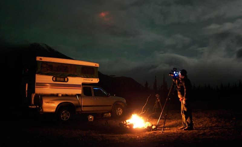 Todd Salat, Filming Aurora Hunter