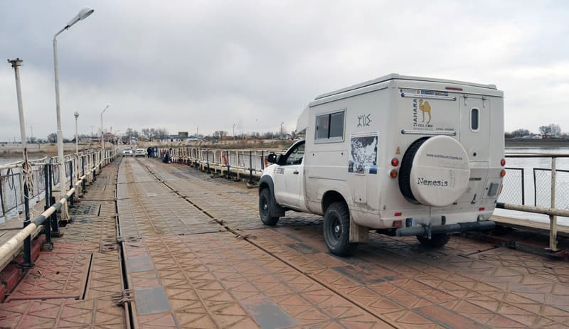 Fixed cell camper in Spain